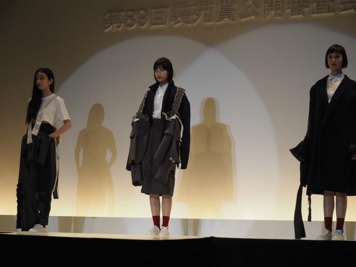 Models wear Shohei Kinoshita at the 2015 Soen Awards  木下翔平作、2015年装苑賞
