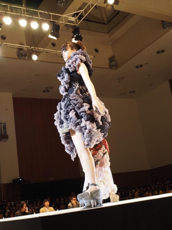 Models wear Sho Konishi at the 2015 Soen Awards 小西翔 作、装苑賞2015年