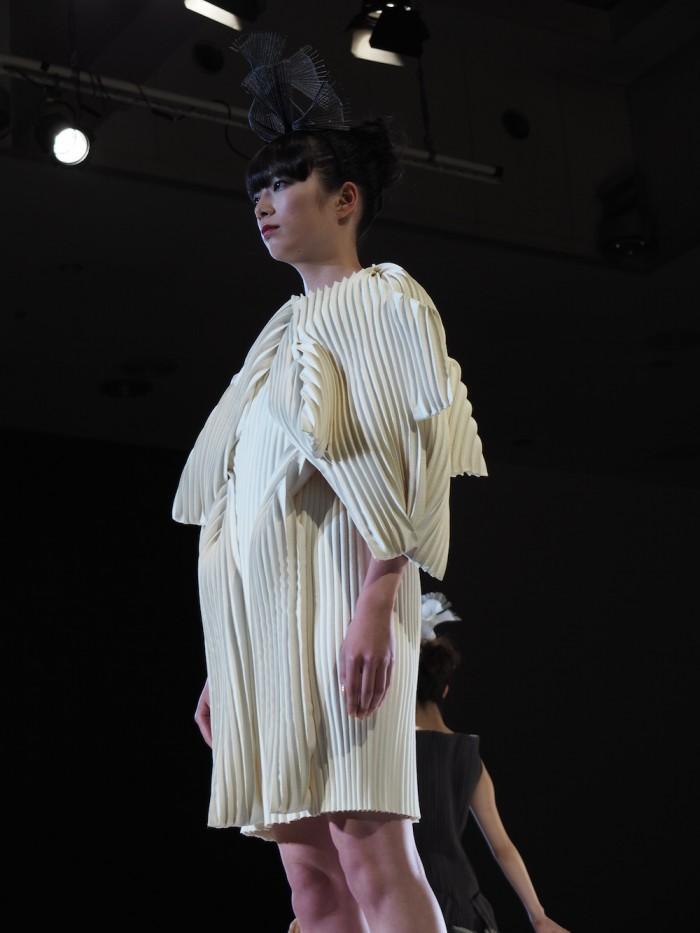 Tsubomi Kei at the Soen Awards 2015 ケイ ツボミの作品、装苑賞2015年