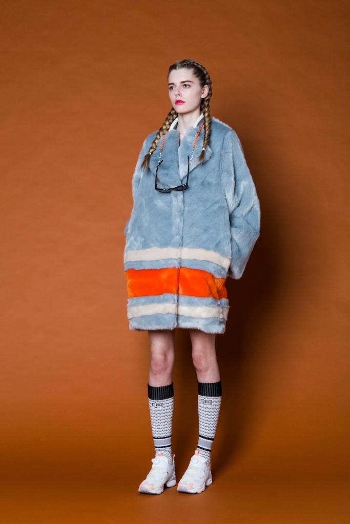 model wears NONtokyo 2015 AW Tokyo collection