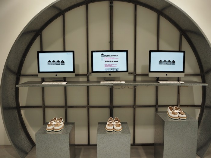 dover street market ginza 2f paraboot