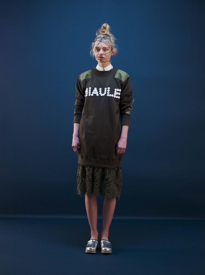 model wear miyao AW 2015 fashion design 4
