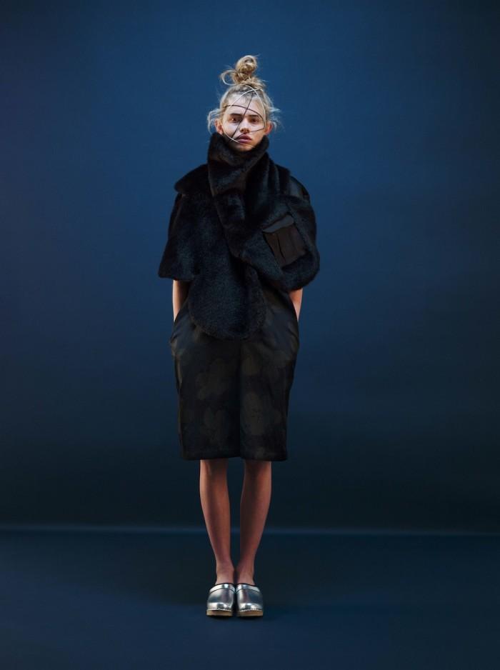 model wear miyao AW 2015 fashion design 2