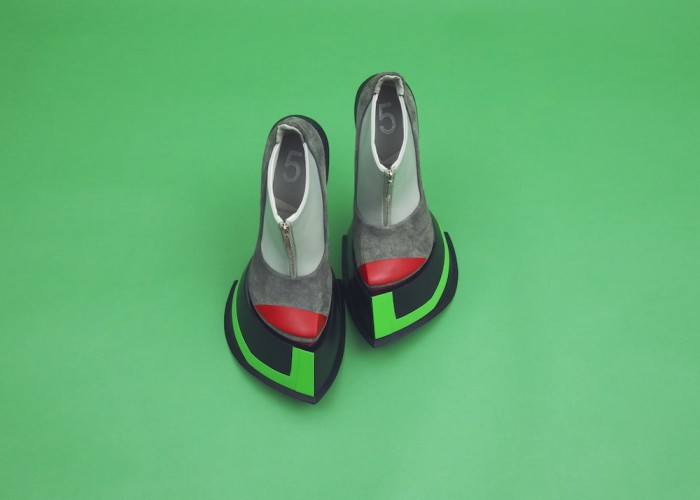 colorful wataru sato shoes from the robot gundam collection