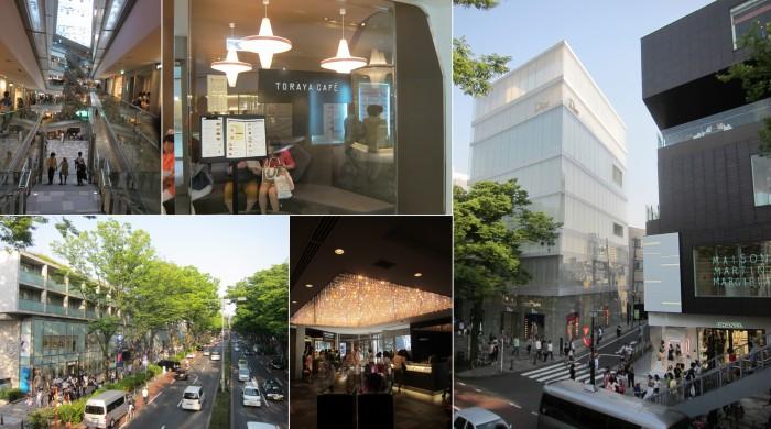 Designer luxury shopping in Japan, omotesando hills