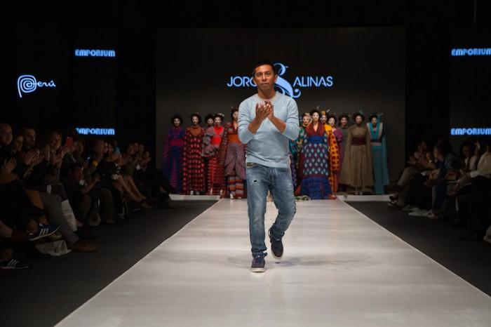 Jorge Salinas fashion show finale