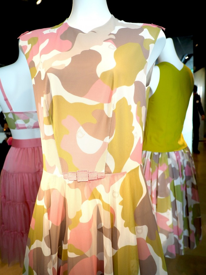 camouflage dress by Japanese lingerie brand Wacoal DIA for 2015