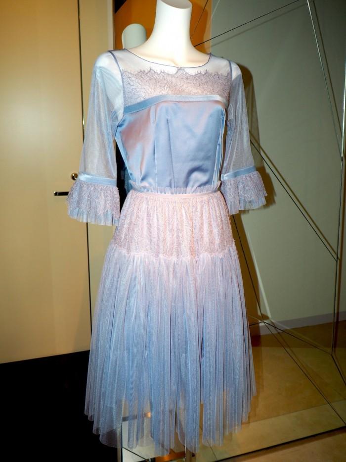 ballerina dress by Japanese lingerie brand Wacoal DIA for 2015