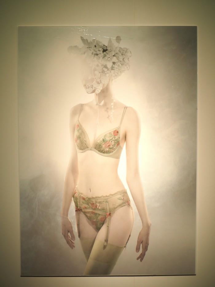 lookbook for Japanese lingerie brand Wacoal DIA for 2015