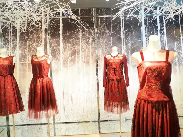 Japanese lingerie brand Wacoal DIA installation for 2015