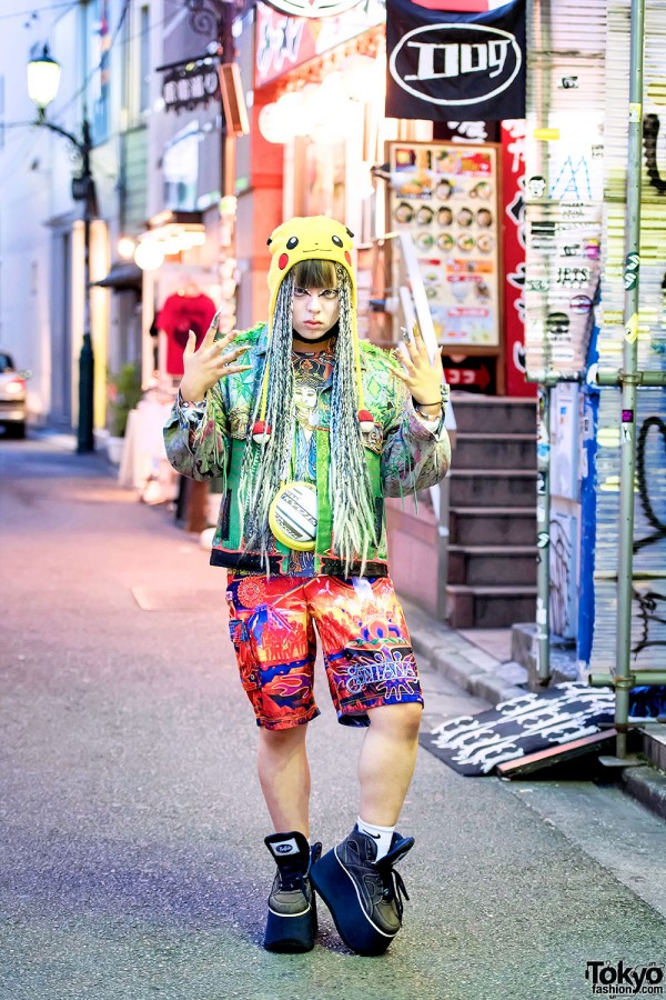 shoshi in Neo street style fashion