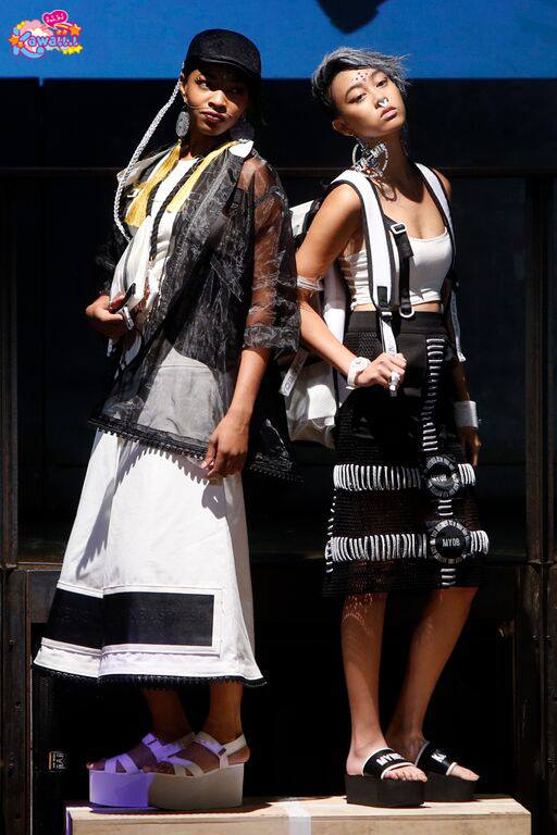 model in tokyo-above-underground-fashion myob