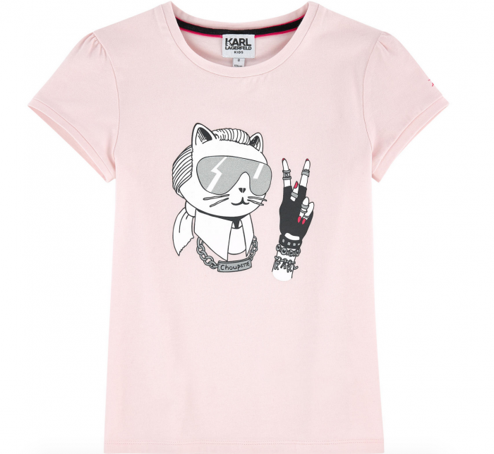 Karl Lagerfeld kids for Melijoe illustration tee
