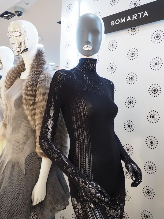 Next Luxury Japanese Fashion Brand Somarta display at Daimaru