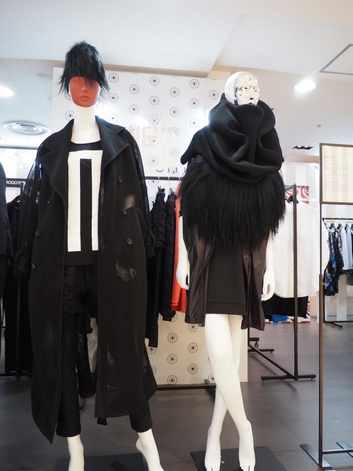 mannequins by Next Luxury Japanese Fashion Brand Roggykei at Daimaru