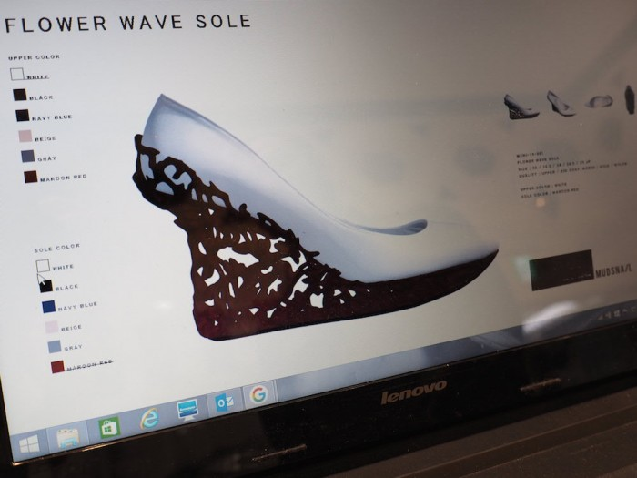 Next Luxury Japanese Fashion Brand Musnail's 3D printed shoe software