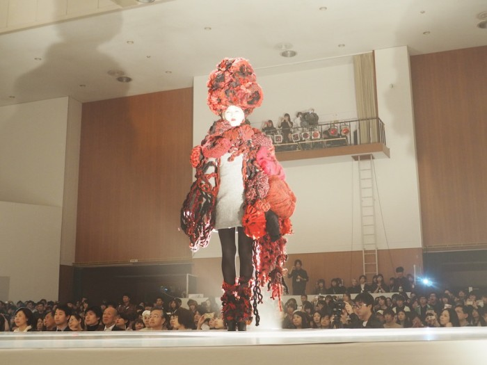 Bunka Fashion College in Tokyo School Festival show 2015