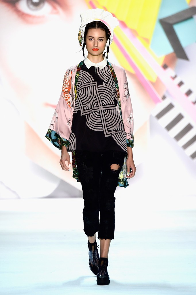 Misha Janette styles Desigual New York Spring 2016