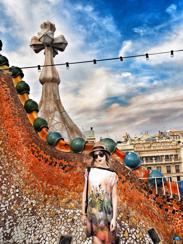 To style a fashion show, Misha visits Gaudi