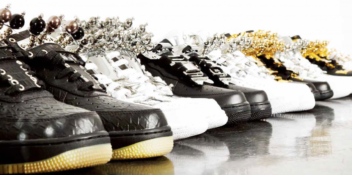 catalog for King customized sneakers in Tokyo