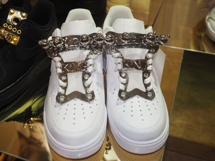 King customized sneakers in Tokyo