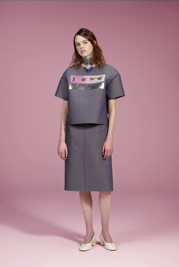 model wears yohei ono 2016 aw collection