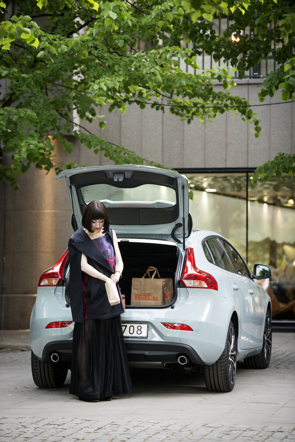 Misha Janette Tokyo Fashion Diaries for Volvo V40 City Experience in Stockholm.