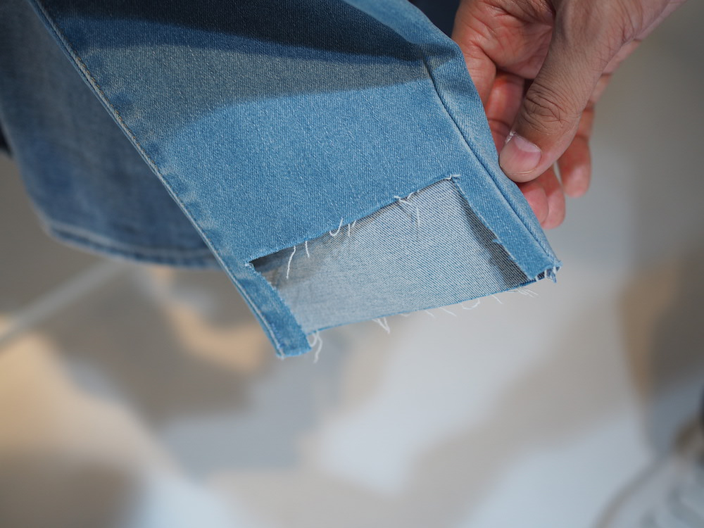 innovative denim techniques on display at Tokyo SS lifewear exhibit 2017