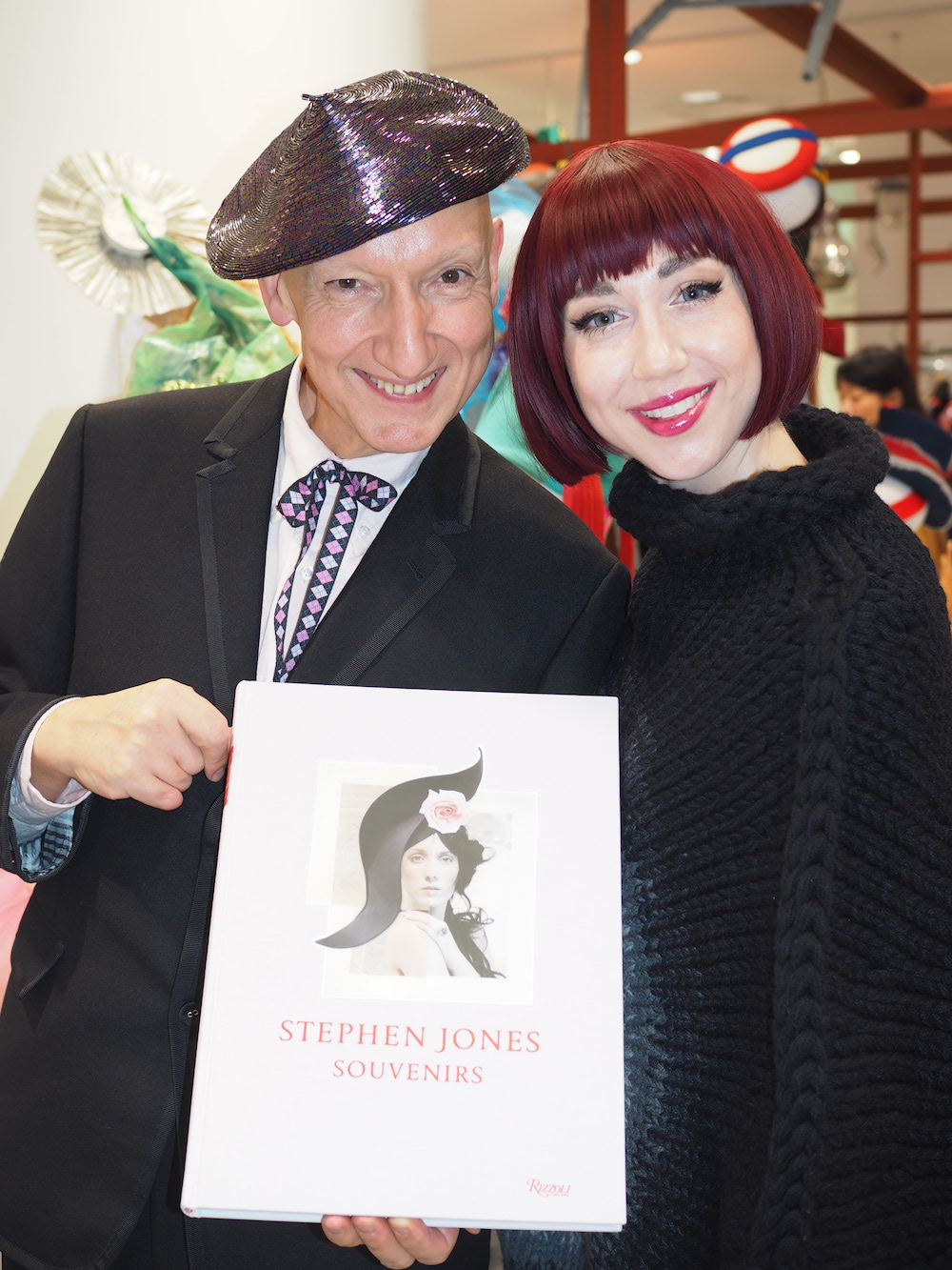 stephen jones new book at dover street market Ginza
